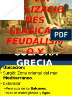 Capitulo 7 Civilizaciones Clásicas de Occidente, Europa Feudal y Capitalismo Mercantil