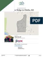 Shadow Ridge Neighborhood Real Estate Report