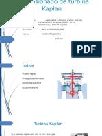 Dimensionado de Una Turbina Kaplan 1