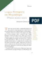 Revista Brasileira 74 - PROSA_Lingua Portuguesa Em Mocambique
