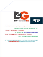 Current Affairs April 2016 PDF DayTodayGK