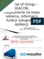 L-07 BEACON Sieci Komputerowe (PWSZ Kalisz, Marek Wypychowski)