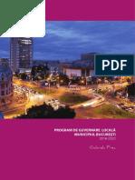 Gabriela Firea Program Bucuresti 2016-2020