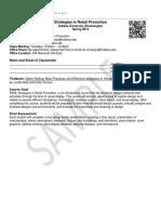 RDMG-R309 Strategies in Retail Promotion