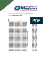 Lista de Precios Polietileno Alta Densidad