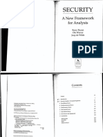 BUZAN WAEVER WILDE 1998 Security a New Framework for Analysis CH 1 and 2