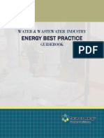 Energy Guide book for water and wastewater