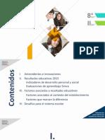 Entrega de Resultados Educativos 8° básico y II medio 2015
