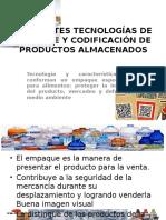 Diferentes Tecnologías de Empaque y Codificación de Productos