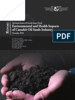 RSC Oil Sands Panel Main Report Oct 2012