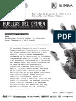 Huellas Del Crimen_Programa