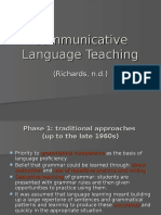 communicative language teaching  3