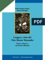Lengua y Ritos de Palo Monte Mayombe Jesus Fuentes Guerra