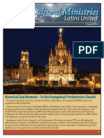 Cross Cultural Ministries Newsletter May 2016