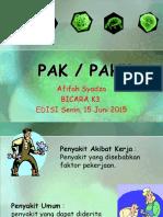 Afifah Syadza - Pak Pahk