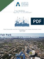 UTA's Fair Park Study