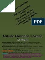 REVISÃO (1º BIMESTRE) FILOSOFIA, MITO, CULTURA, NATURAL