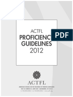 actfl proficiency guidelines  1