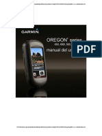 GPS Oregon 550 GARMIN Manual Español