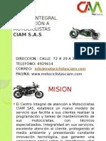 Centro Integral de Atención a Motociclistas Ciam s