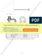 Fixed Securing Devices Sample