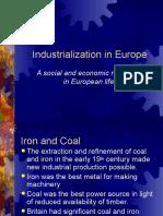 industrialization in europe