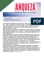 BUEN DIA- La Virtud de La Franqueza