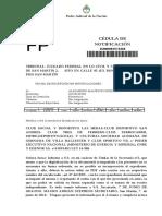 La medida cautelar a favor de clubes de barrio en San Martín