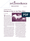 Audubon Canyon Ranch Bulletin, Spring 2007