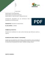 Formato de Anteproyecto de Residencias Denis