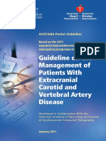 carotid guidelines 2011