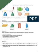 Ejercicios de poliedros