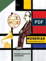 Caderno Educativo Mondrian Ccbb