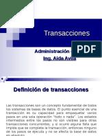 Transacciones en MySQL (1)