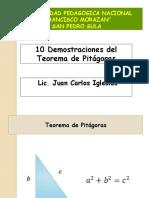 Demostraciones Del Teorema de Pitagoras
