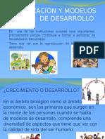 La Educacion y Modelos Desarrollo