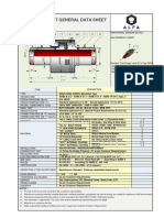Isolating Joint General Data Sheet