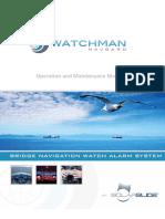 Watchman Navgard BNWAS Operation & Installation Manual