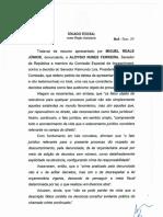 Decisão do STF sobre pedido de Aloysio Nunes para reduzir o número de testemunhas de Dilma