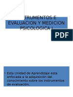 Instrumentos e Evaluacion y Medicion Psicologica i[1]
