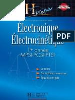 Électronique Électrocinétique 1ère Année MPSI PCSI PTSI