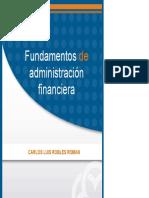 Fundamentos de Administración Financiera LIBRO 49 Fundamentos de Administracion Financiera