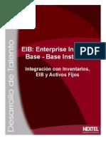 EIB Integración Con Inventario - EIB - Activo Fijo