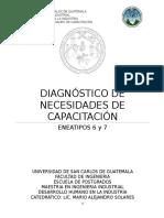 Diagnóstico de Necesidades de Capacitación - Eneatipos 6 y 7