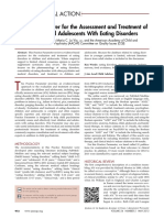 Practice Parameter for the Assessment and Treatment of Children and Adolescents With Eating Disorders