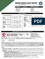 06.08.16 Mariners Minor League Report