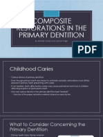composite restorations in the primary dentition - ferzacca   tingle