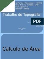 trabalho de topografia