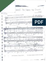 ugoy ng Duyan music sheet