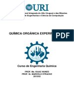 Apostila de Química Orgânica Experimental